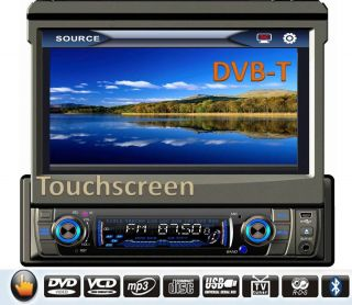 DIN 7 Autoradio DVD, GPS, Touchscreen, USB, Bluetooth, I Pod, Navi