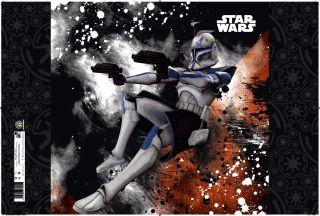 PP Star Wars Clone PVC Schreibtischunterlage 60x40 NEU Captain Rex