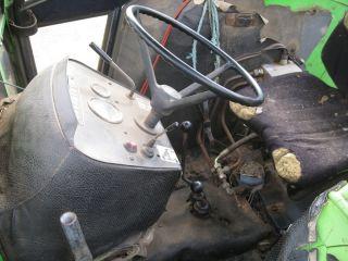 Deutz 6206 A Allrad Kabine Frontlader Servo Schlepper Traktor 6207