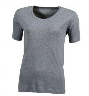 James & Nicholson Damen Crew Neck T Shirt Rundhals kurzarm tailliert S