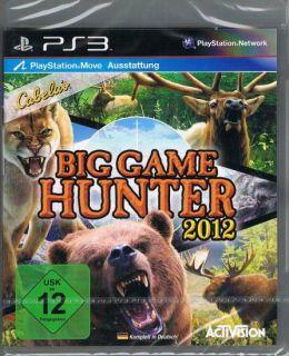 Playstation 3 PS3 Spiel Cabelas Big Game Hunter 2012 NEU