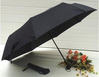 Auto Open Black Umbrella Totes,rain or sun Folding umbrella
