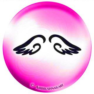 selbstklebend #85 896 XMAS Engel Flügel Engelsflügel
