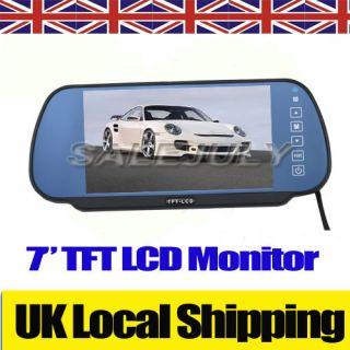 TFT LCD Car Rearview Mirror Monitor for backup car camera