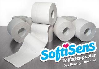 Toilettenpapier 144 Rollen Hygiene Artikel 3 lagig 250 Blatt 140g