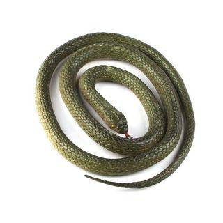 New Silicone Fake Toy Animal Snake Snakes Trick Novelty