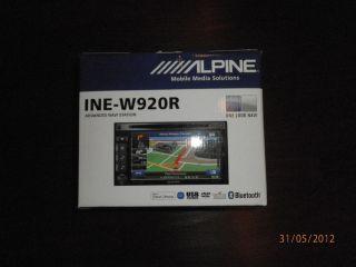 ALPINE INE W920R Multimedia Navigation, USB DVD  WMA iPod iPhone