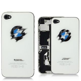 iPhone 4S BMW LOGO APPLE GLAS Backcover Akkudeckel Rueckschale BACK