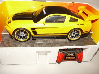 RC Auto  Ford Mustang  1/16 6V 40Mhz  New Bright  916