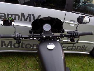 DRAG BAR Lenker 910mm 1Zoll schwarz Harley Davidson Sportster XL 1200