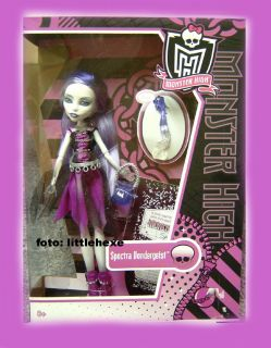 MONSTER HIGH PUPPE SPECTRA VONDERGEIST NEU HEIT HERBST 2011 DEUTSCH