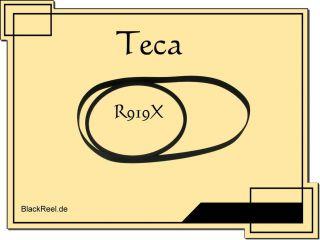 Teac R 919 X R919X Riemen rubber belts Kassettendeck Cassette Tape