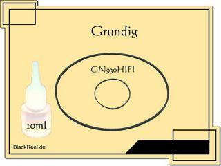 Grundig CN 930 HIFI Service Kit 2 Cassette Tape Deck