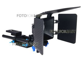 FOTGA DP500 Baseplate Rail rod & Matte Box support follow focus DSLR