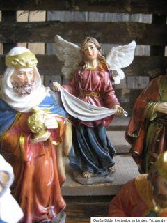 Set Krippenfiguren 11 Teilig Krippe Krippenfigur 17 cm Weihnachten