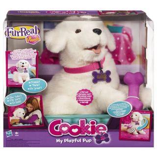 furreal friends cookie playful pup on popscreen. Black Bedroom Furniture Sets. Home Design Ideas