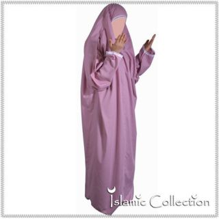 Gebetskleidung Rosa Muslim Jilbab Abaya Khimar Islamische Kleidung 12