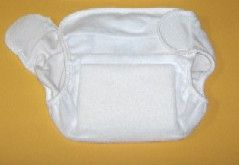 Gewebespreizhose Spreizhose Frottee Windelhose Baby Gr. 0 , 1