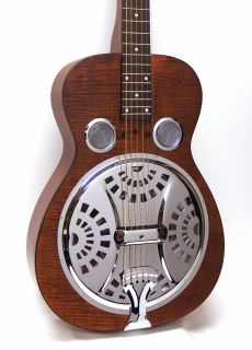Dobro Hound Dog Deluxe Squareneck Resonator Acoustic Electric Guitar