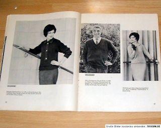 Knittax Magazin Nr. 8 August 1960 Trachten, Große Größen