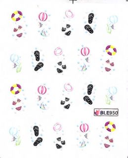 Nail Art Sticker Tattoo One Stroke BLE 950