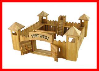 931 0520 Drewart Western Fort Festung aus Holz Westernstadt Indianer