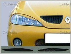 Renault Megane 99 03 Scheinwerferblenden   Böser Blick