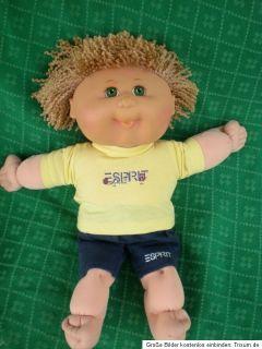 diese CPK Puppe Mattel CABBAGE PATCH KIDS Kohlkopf ist ca.38 cm groß