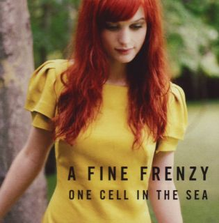 Fine Frenzy One Cell In the Sea 2007 Adult Alternative Pop Music CD
