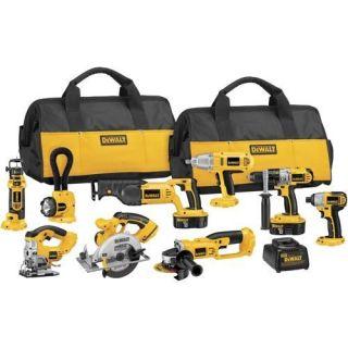 Dewalt DCK955X XRP™ 18V Cordless 9 Tool Combo Kit
