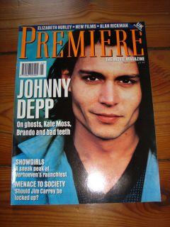 PREMIERE The Movie Magazine 05/1995 Film (Johnny Depp, Jim Carrey