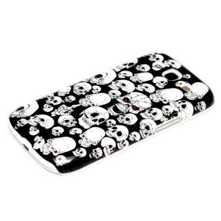 Samsung Galaxy S3 Hülle Case Schutzhülle Hard Cover Tasche Totenkopf