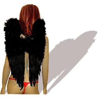 Engelsflügel Engel Flügel schwarz 50x60 cm Fallen Angel