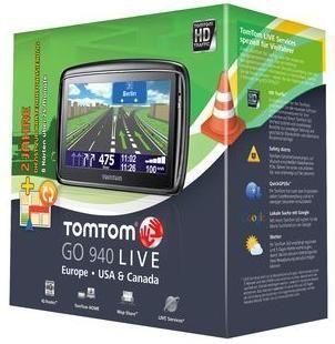 TomTom GO 940 LIVE 46 Länder IQ + 2 Jahre Karten GRATIS