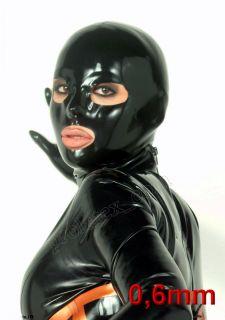 Latexa Latex Gummi Maske 0,6mm anatomisch Rubber Hood Latexmaske Neu