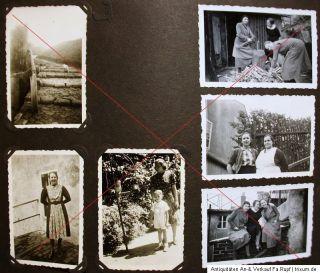 Orig.Militär Foto Album 2.WK Soldat Panzer Flugzeug Gebirgsjäger