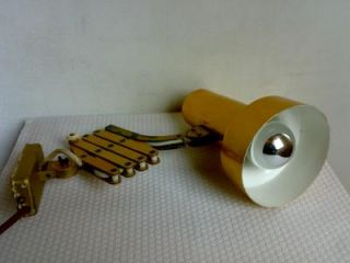 70er Scherenlampe Lampe Wandlampe Leuchte.Space Age Panton Ära 70s