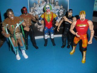 Doink The Rock Hulk Hogan WWE Wrestling Figur Jakks