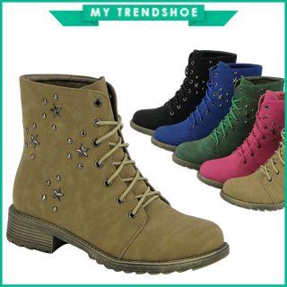 Schnürer Damen Schuhe Stiefel 94892 Stiefelette 36 41