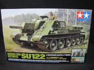 TAMIYA 300025111 135 WWII Rus.Pz Jäger SU 122 NEU&OVP HA 949