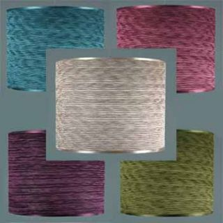 MODERN LIGHT LAMP SHADES   TEAL PINK PURPLE GREEN IVORY