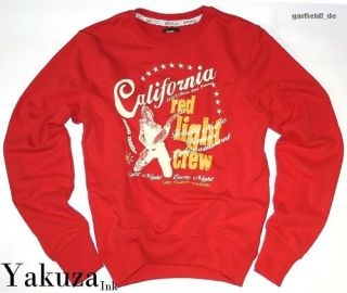 Yakuza Pullover YP 954 *California* red light crew *Neu