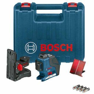 Bosch GLL 3 80 P inkl. BM1 + Koffer Kreuzlinienlaser