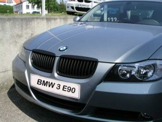 BMW E90 E91 3er 2005   ca.09/2008 NIEREN GRILL SCHWARZ SHADOW 4 lg