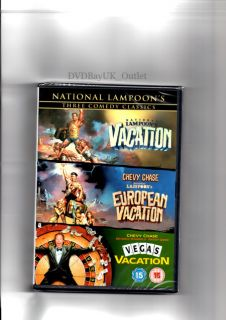 National Lampoons Vacation / European / Vegas Triple New & Sealed DVD