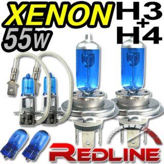 55w Xenon H4 H3 Fern/Abblend Nebel Licht HYUNDAI ACCENT