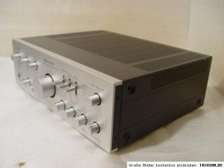 Vintage Kenwood KA 701 Amplifier Verstärker silver 600Watt nice