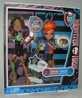Monster High HOWLEEN & CLAWDEEN WOLF Geschwister Pack NEU RAR
