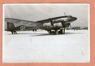 Foto, 2 WK, Flugzeug in Norwegen ? Oslo ?