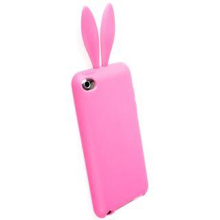 iPod touch 4G Schutzhülle Hasenohren ROSA